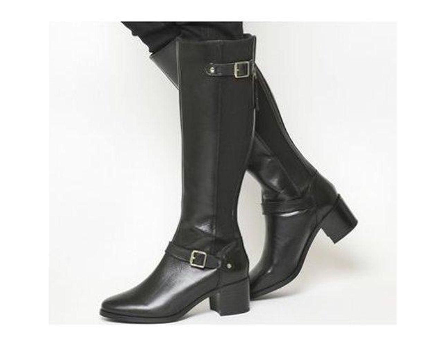 74f86cdec3a Women's Black Kestrel- Mid Heel Riding Boot