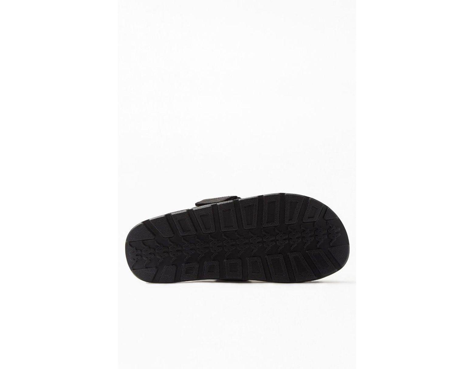 3f8ecaa7 Men's Black 222 Banda Mitel 1 Sandals