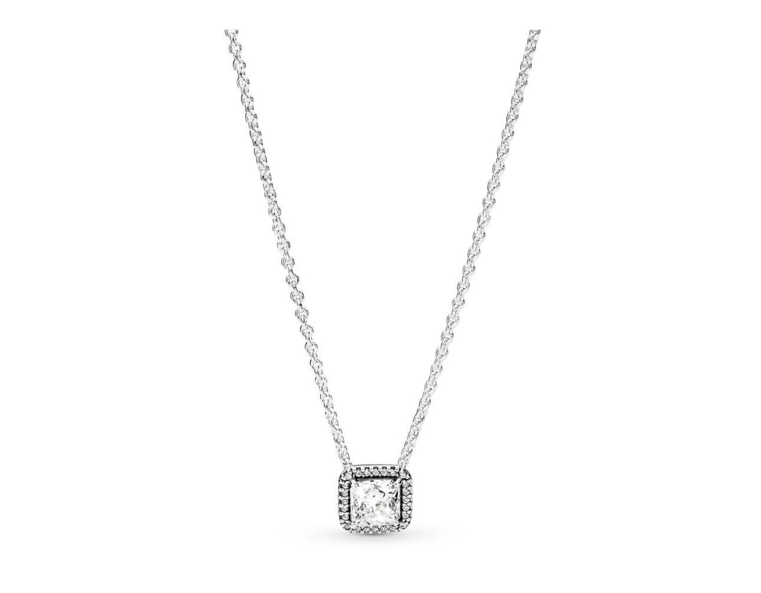 1d9450e3c PANDORA Timeless Elegance Necklace in Metallic - Lyst