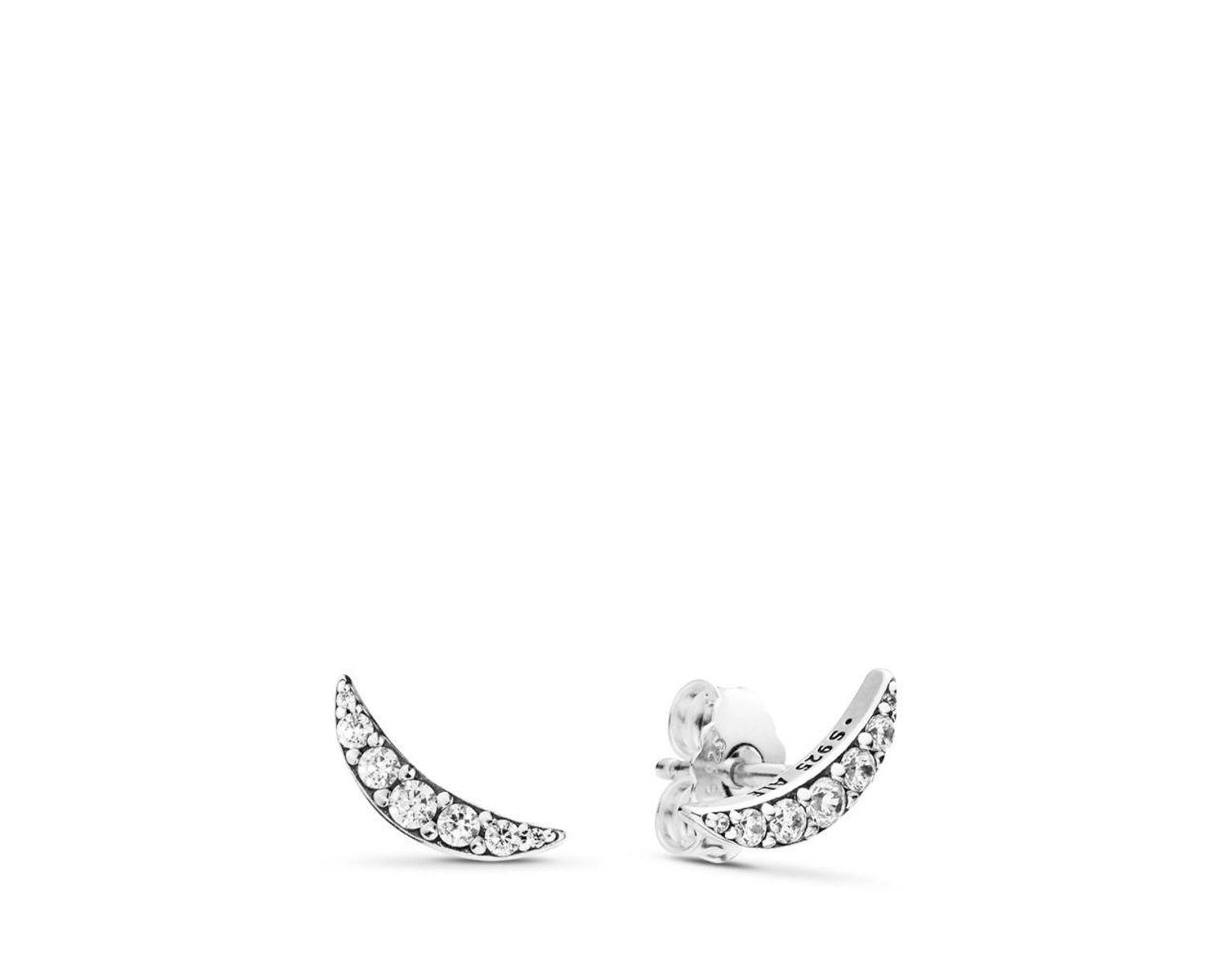 81e9b7d02 PANDORA Lunar Light Stud Earrings in Metallic - Lyst