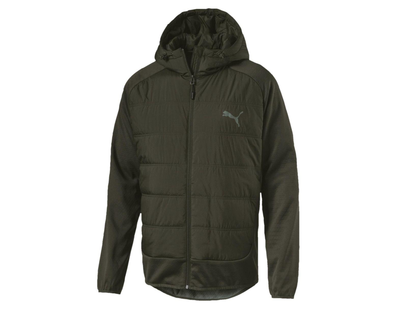 0b5890314 Green Hybrid Men's Padded Jacket