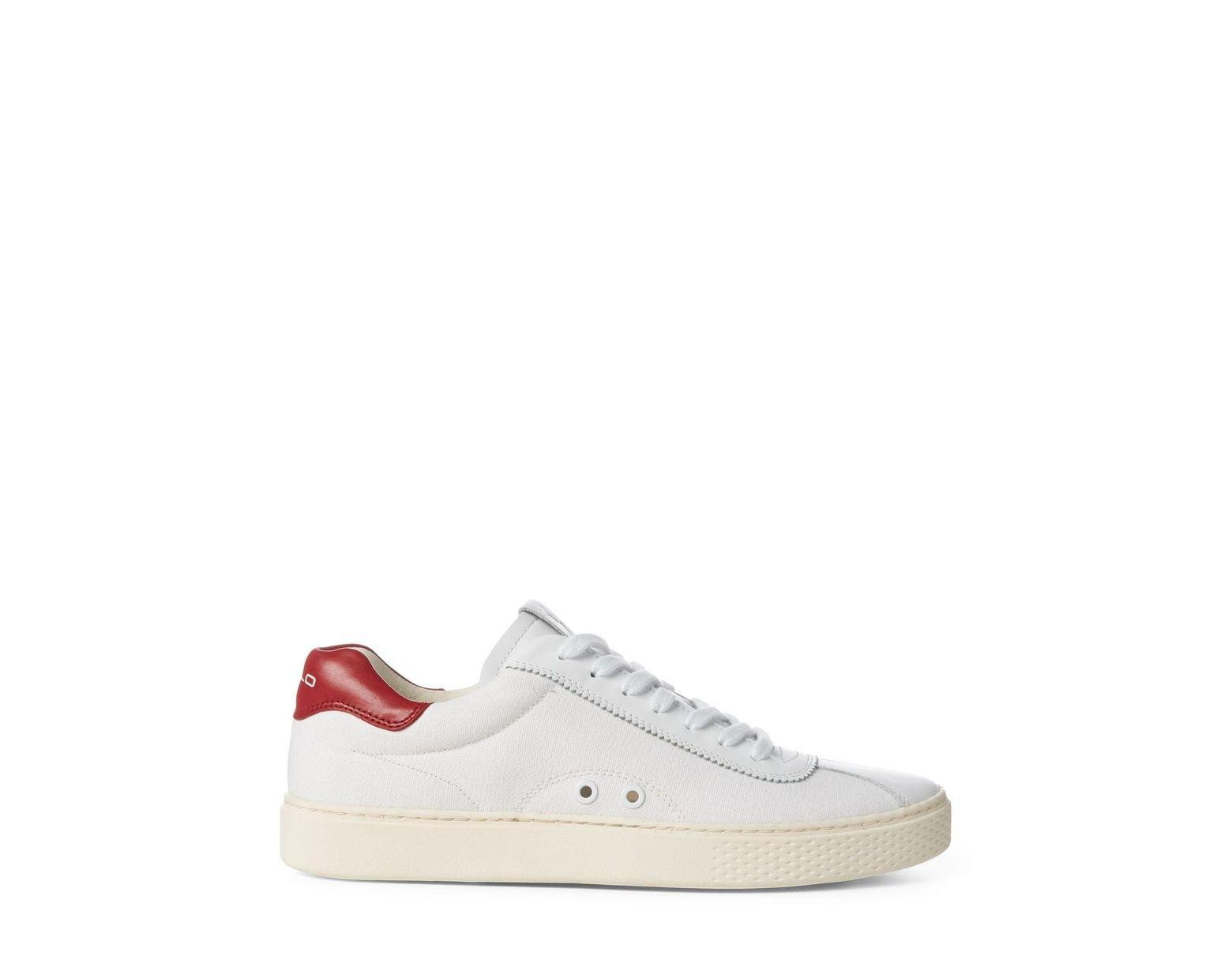 559152cf71 Men's White Court 100 Canvas Sneaker