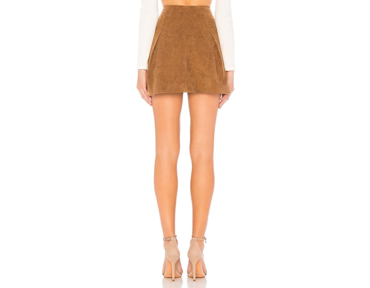d0db2a4863 Tularosa Kendall Corduroy Skirt - Lyst