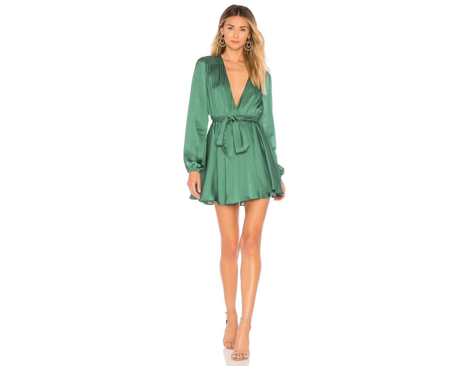 cbd6759edb64 Lovers + Friends Ivy Dress in Green - Lyst