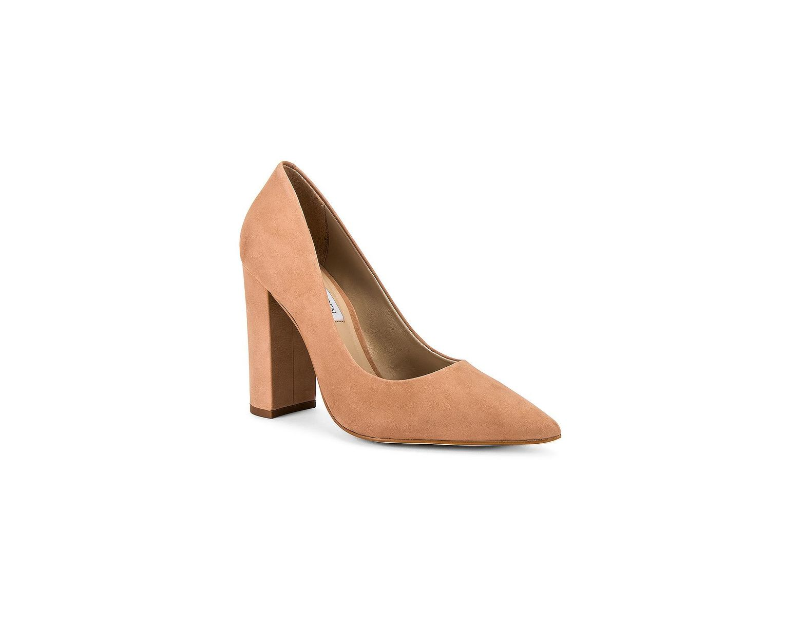 ee3bc3912a Steve Madden Pump in Natural - Save 71% - Lyst