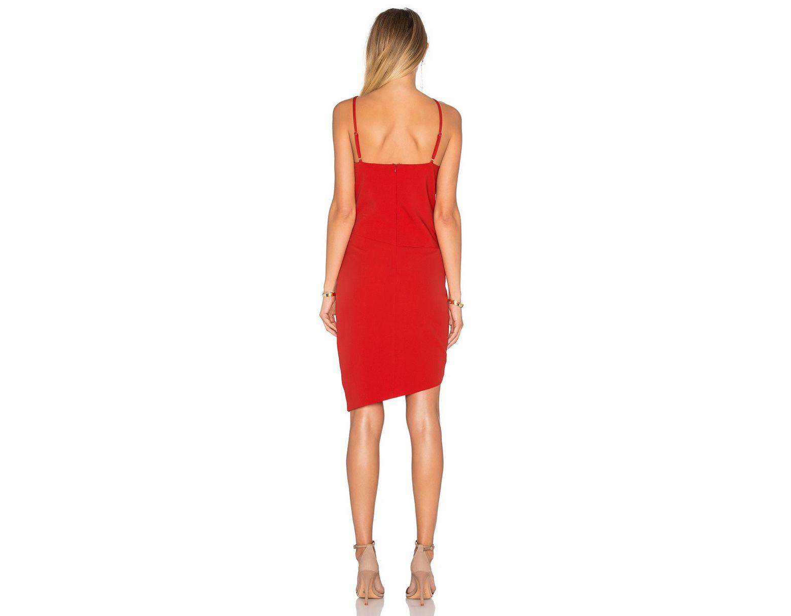 e0b14f1393 Lyst - Elliatt X Revolve The Shot Tulip Dress in Red