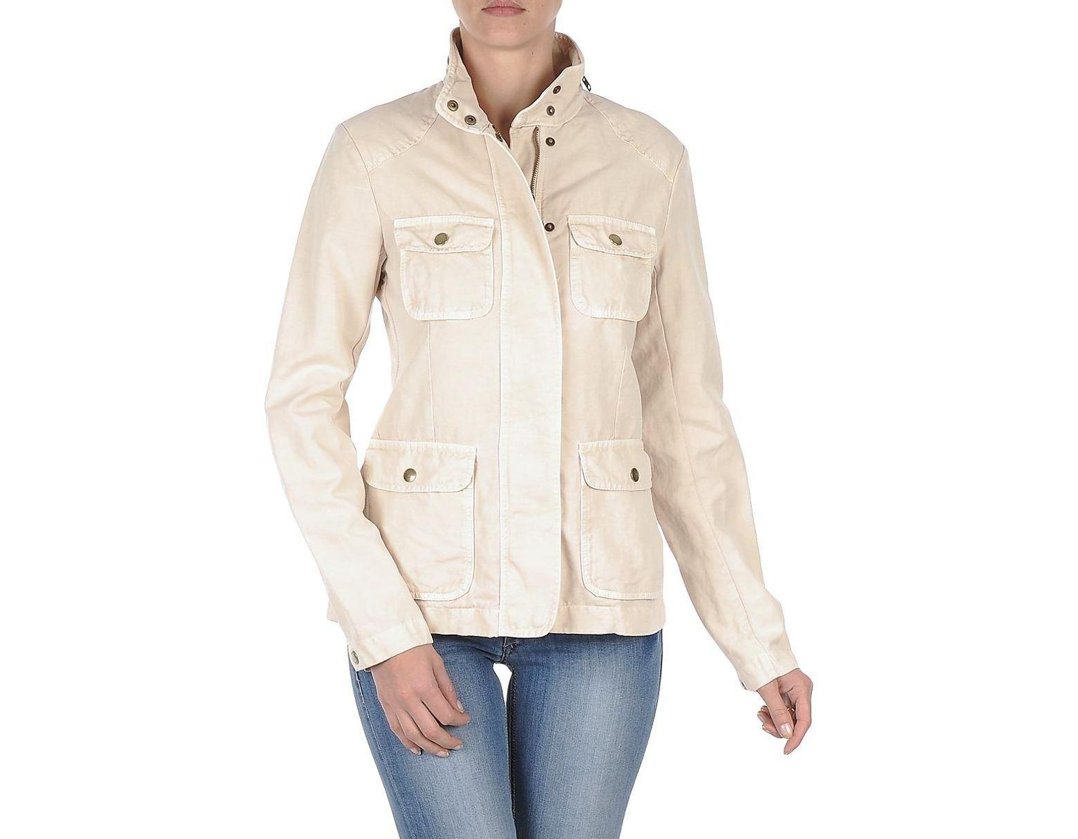 372e7f5ae5708 Women's Natural Cotton Linen 4pkt Jacket Jacket