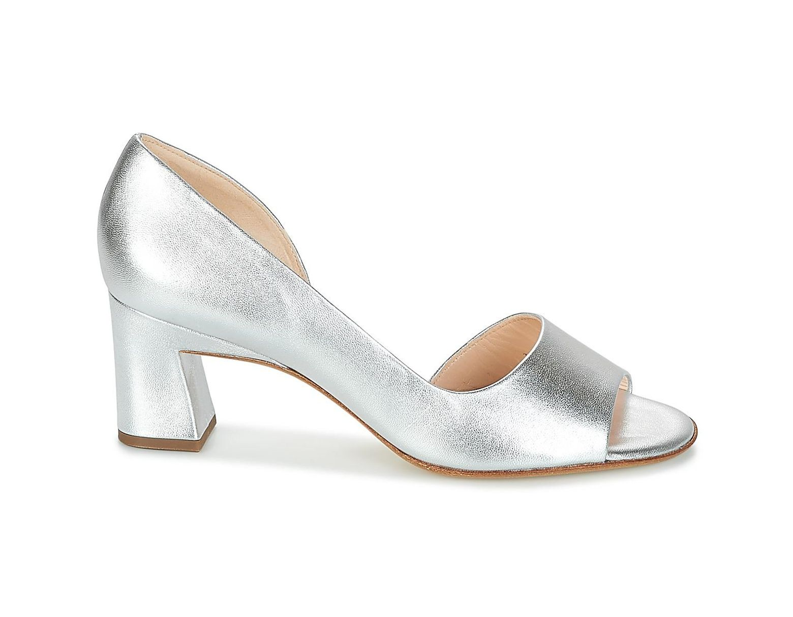 Women's Metallic Silver Sandals Elana In F1JcTlK
