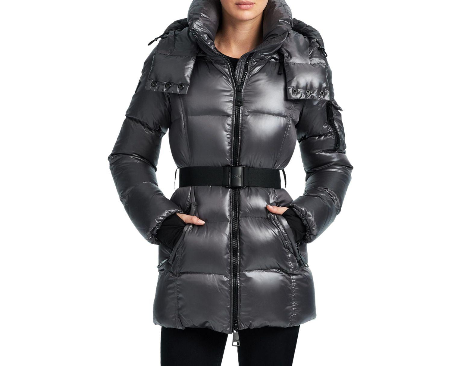 491391975 Sam. Soho Puffer Jacket in Gray - Lyst