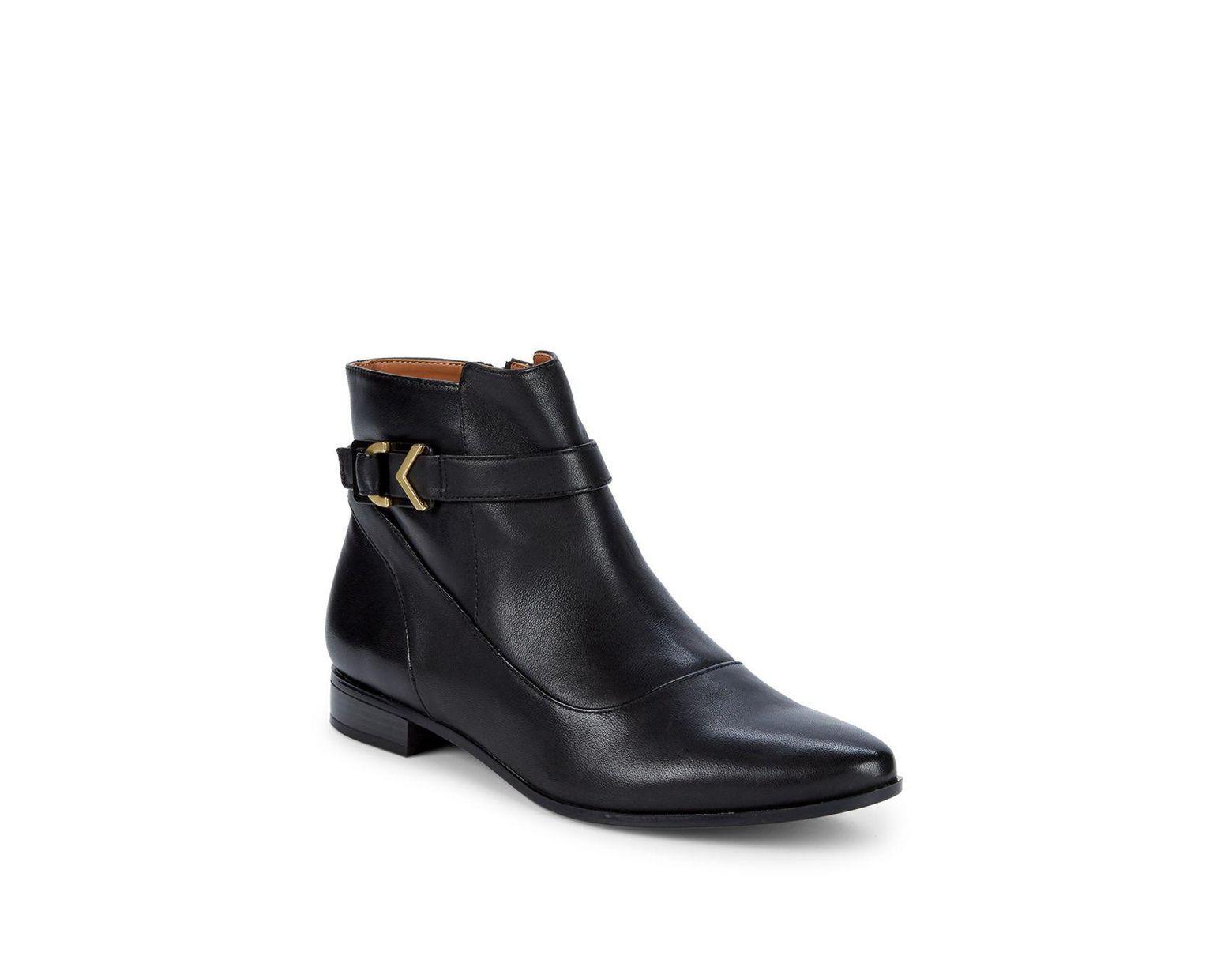 836b0e7c57af2 Women's Black Farryn Buckle Ankle Booties
