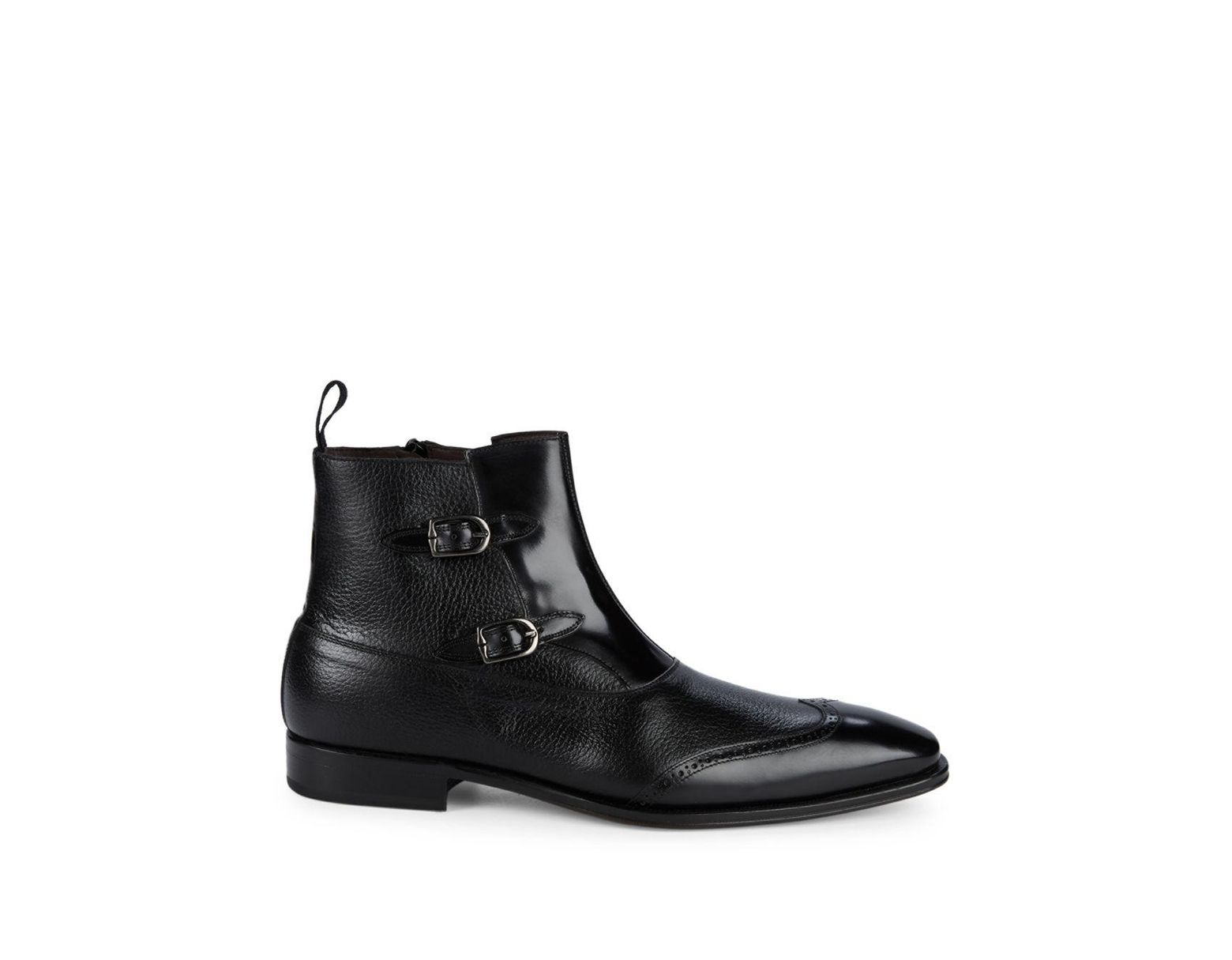 af22c548eae Women's Black Classic Leather Ankle Boots