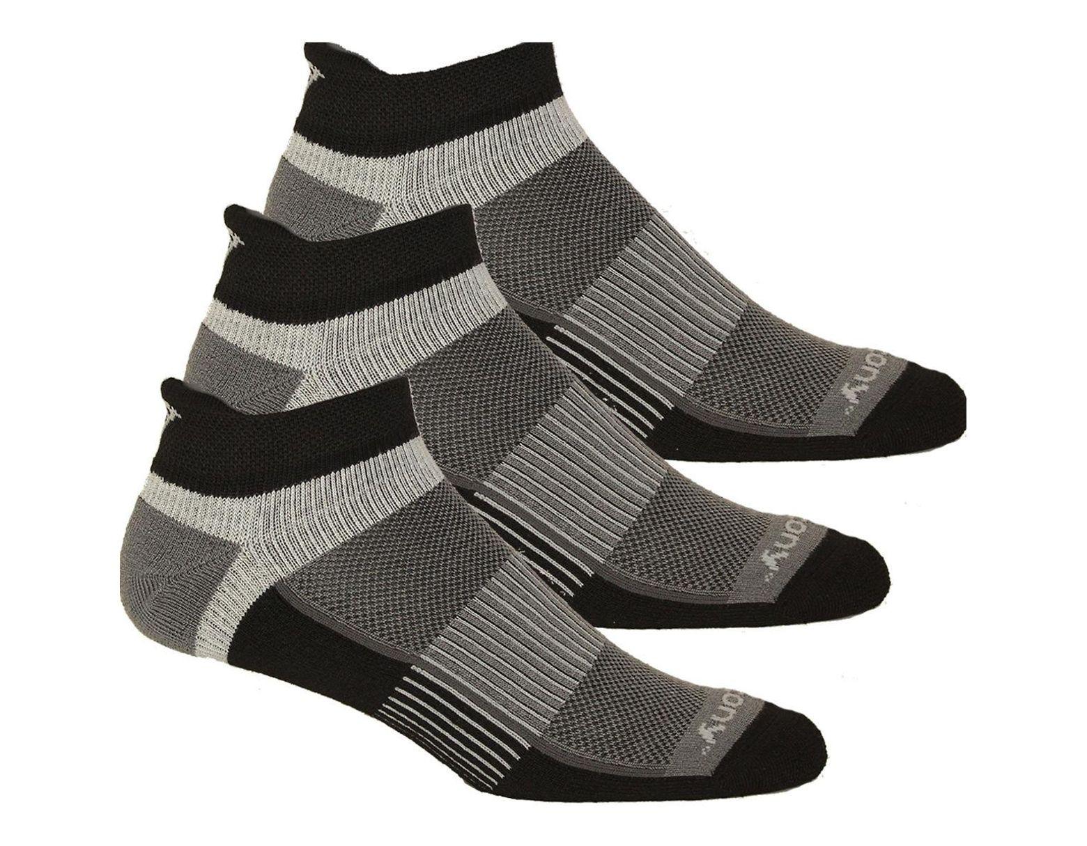 04aadea6 Men's Black Inferno No Show Tab 3-pack Socks