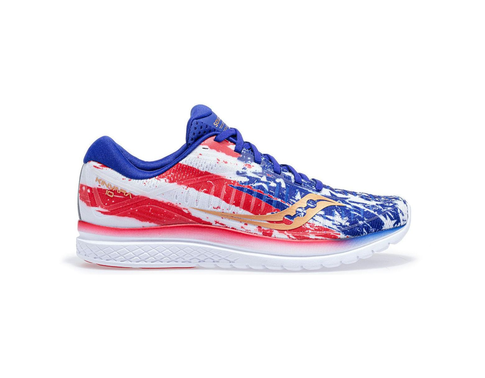 7cfe53d4 Saucony Old Glory Kinvara 10 in Blue - Lyst