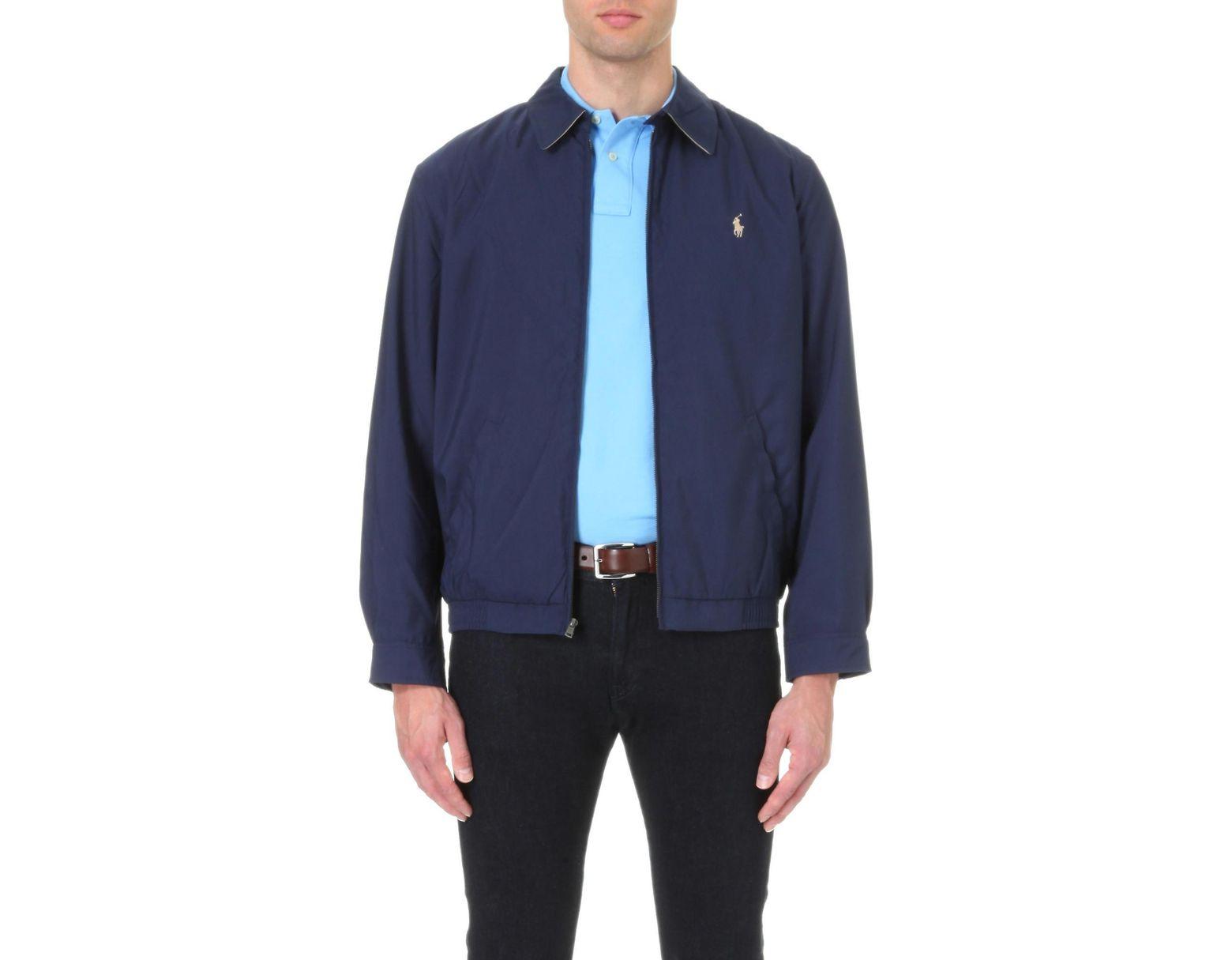 eaf3075e0 Men's Blue New Fit Bi-swing Windbreaker Jacket