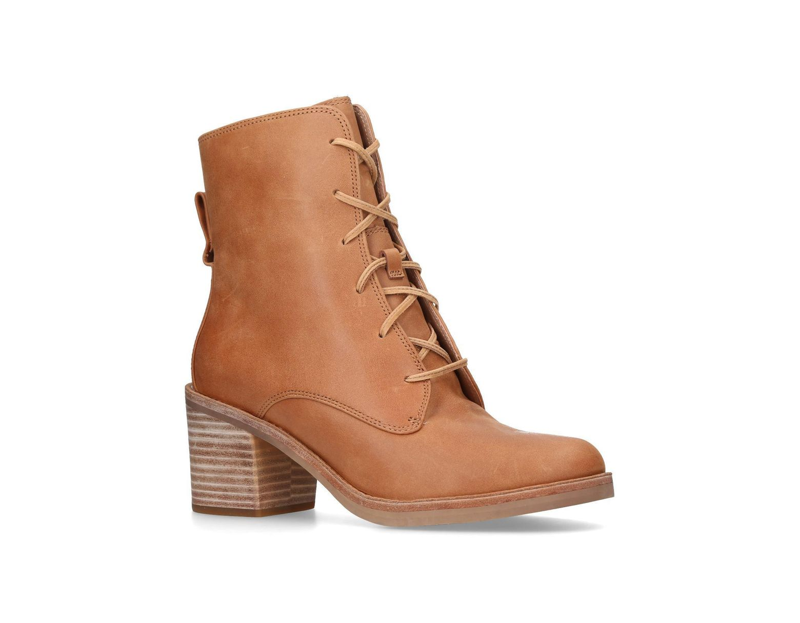 4867e99b8b3 Women's Brown Australia Oriana Tan Leather & Other Ankle Boots