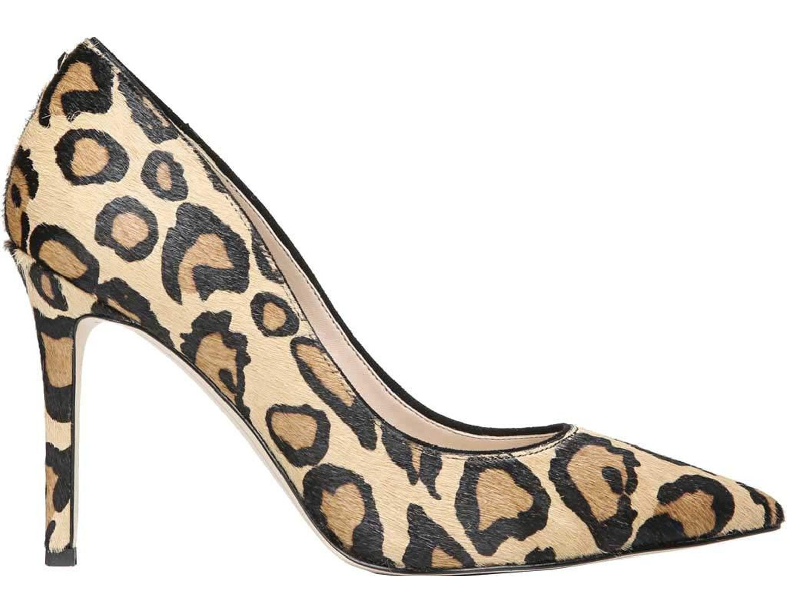 3d1c06b35 Lyst - Sam Edelman Hazel Pointed Toe Stiletto Heel Pump in Natural ...