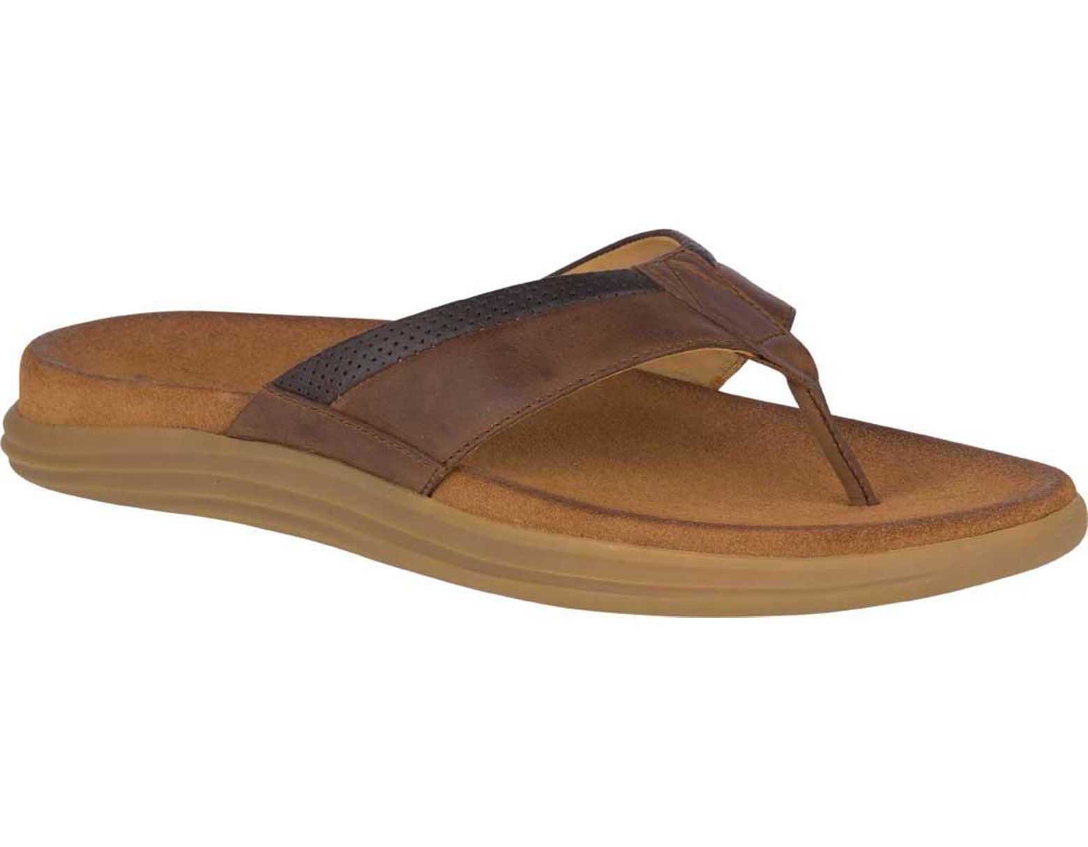 dd5fb352a76d Lyst - Sperry Top-Sider Women s Angelfish Boat Shoe in Brown for Men ...