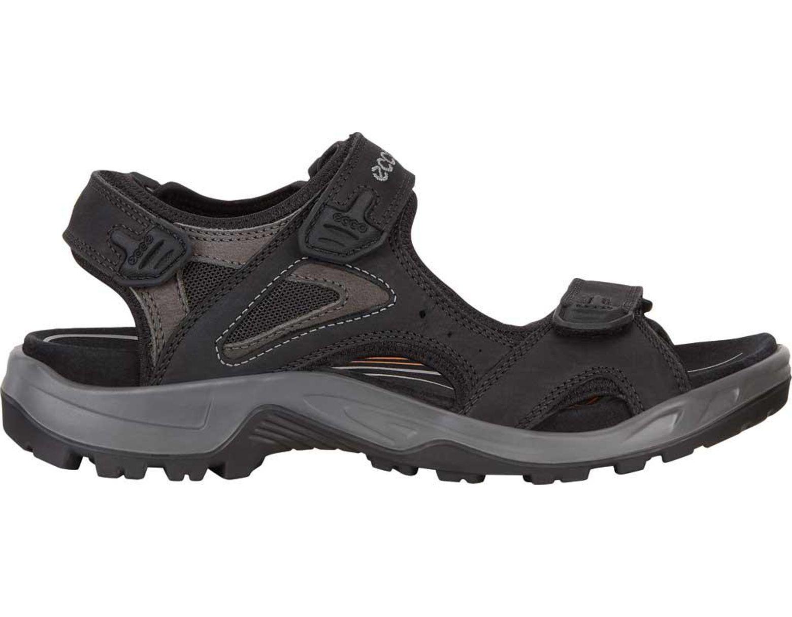 bc2cb1a773ff Lyst - Ecco Offroad Lite Ii Walking Sandal in Black for Men