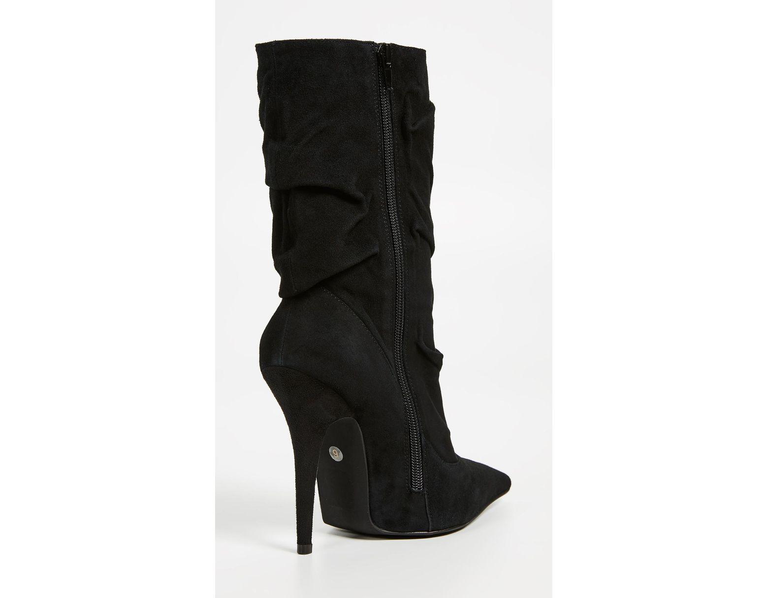 e3d522c637a Women's Black Erotic Mid Shaft Boots