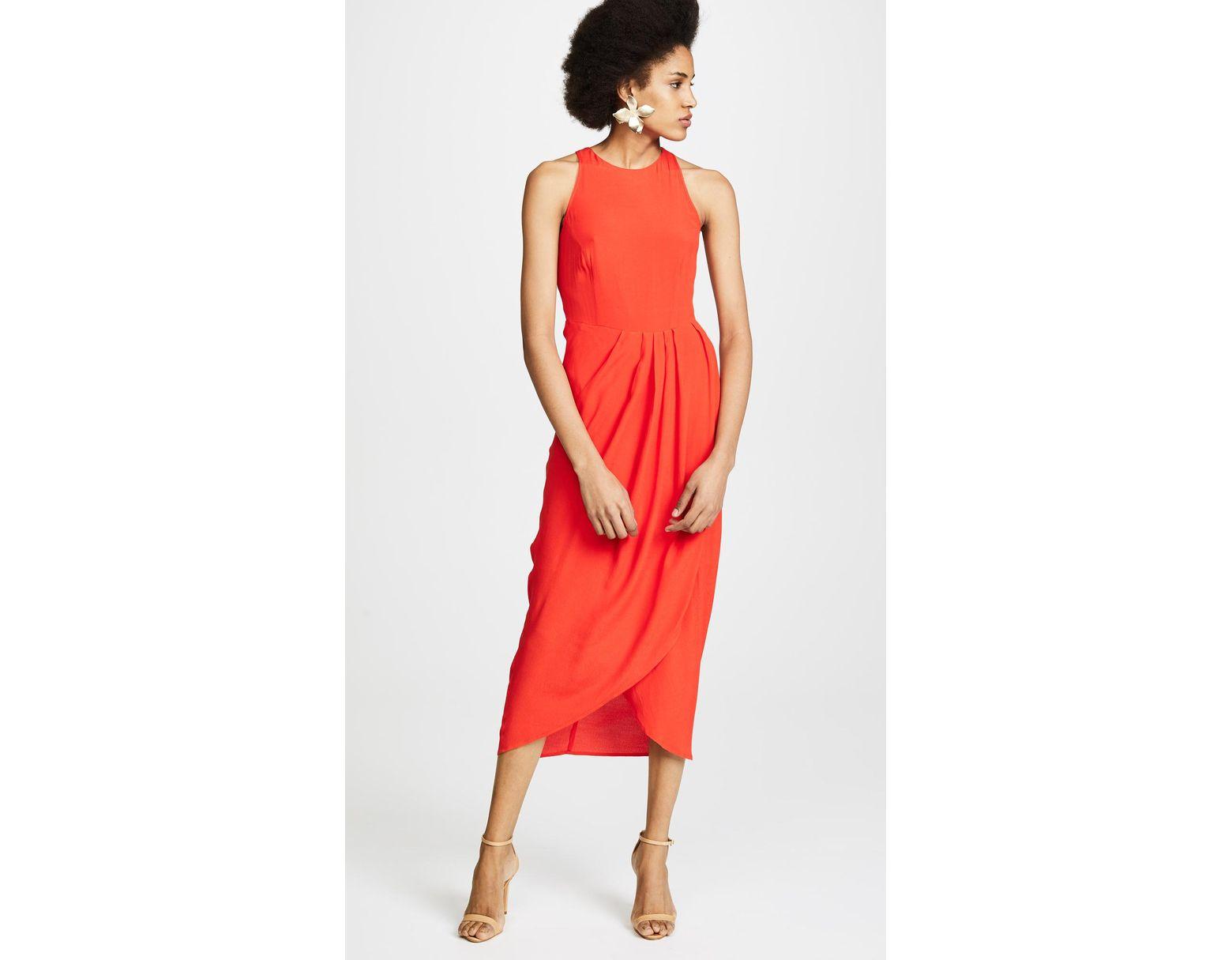 9c70f926b27e Yumi Kim So Social Dress in Red - Lyst