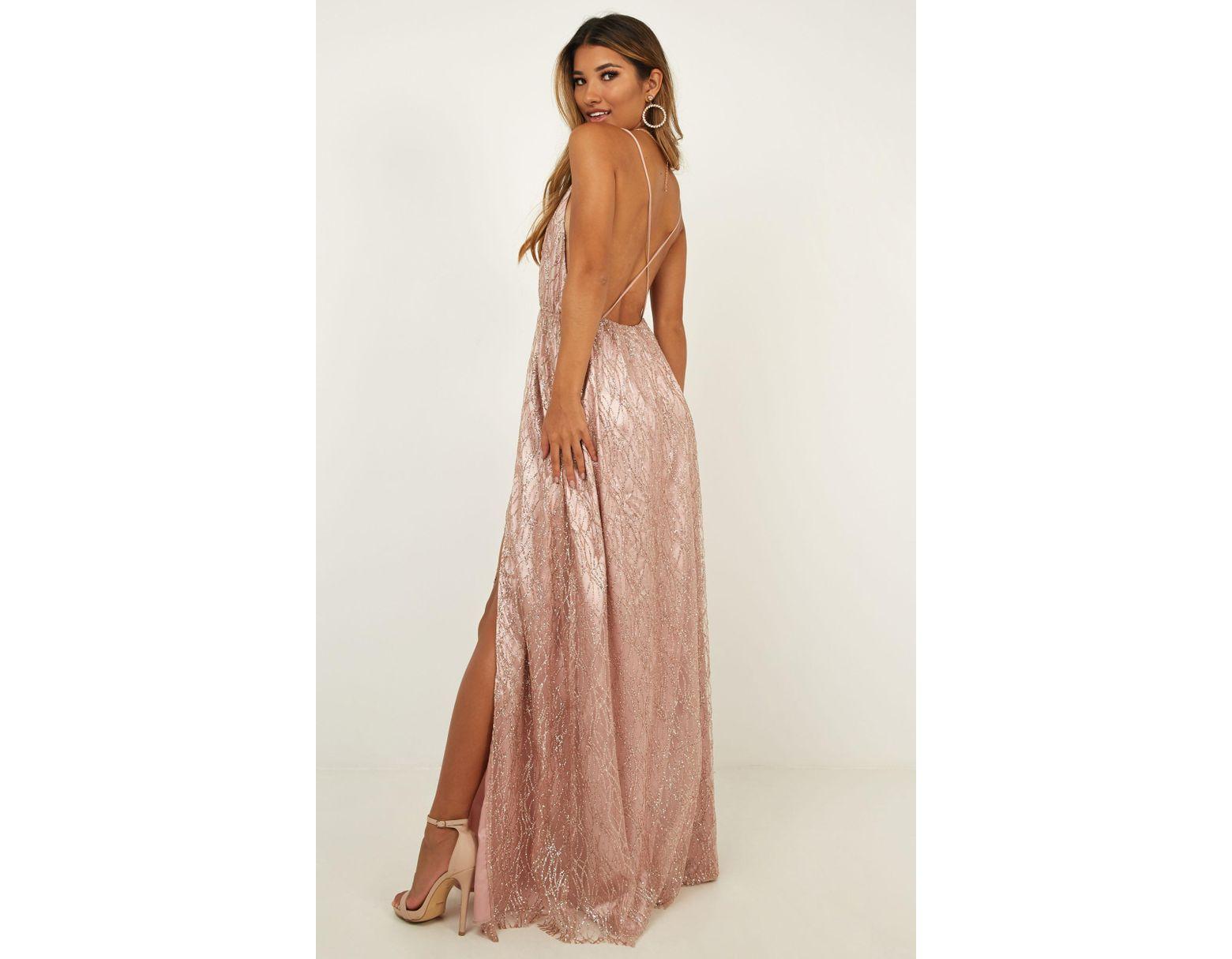 5eccb4376d Showpo Pixi Love Maxi Dress in Pink - Lyst