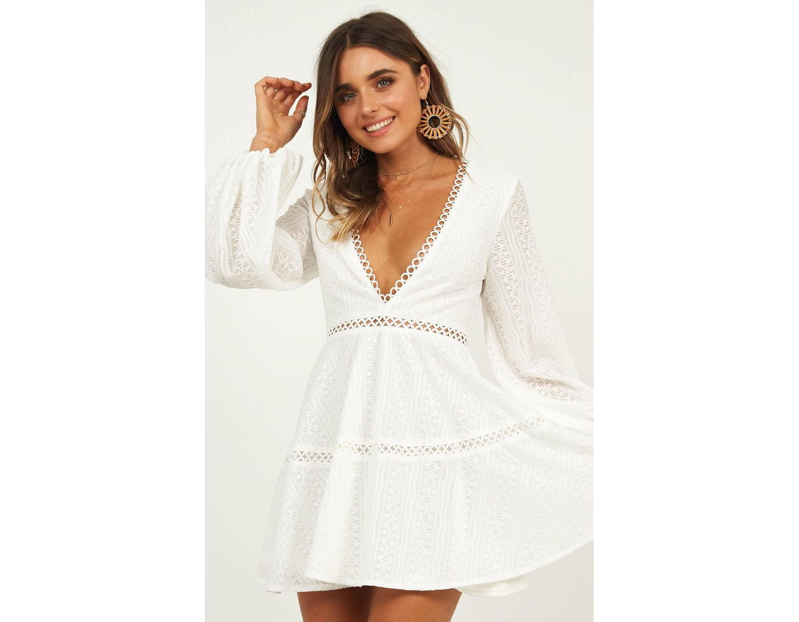dfe091f0ca9 Women's White Youve Got This Dress