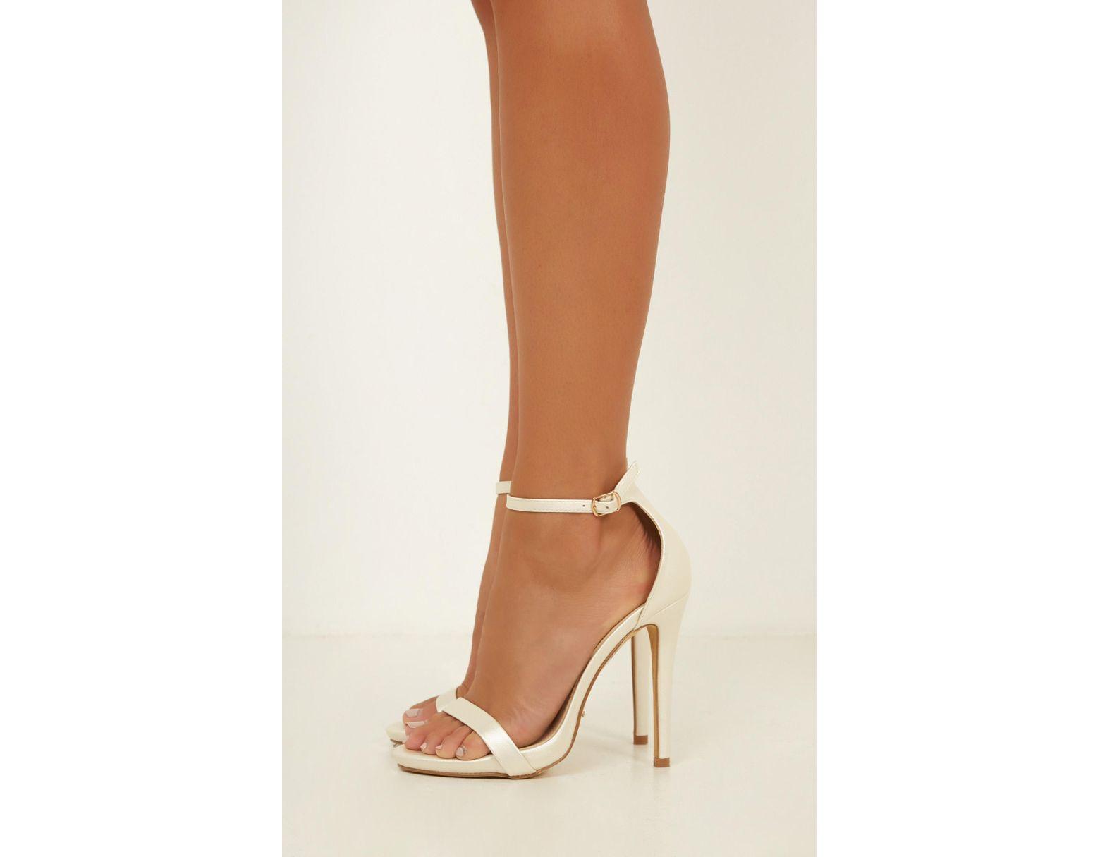 3a3421ced02 Women's White Billini - Dimity Heels