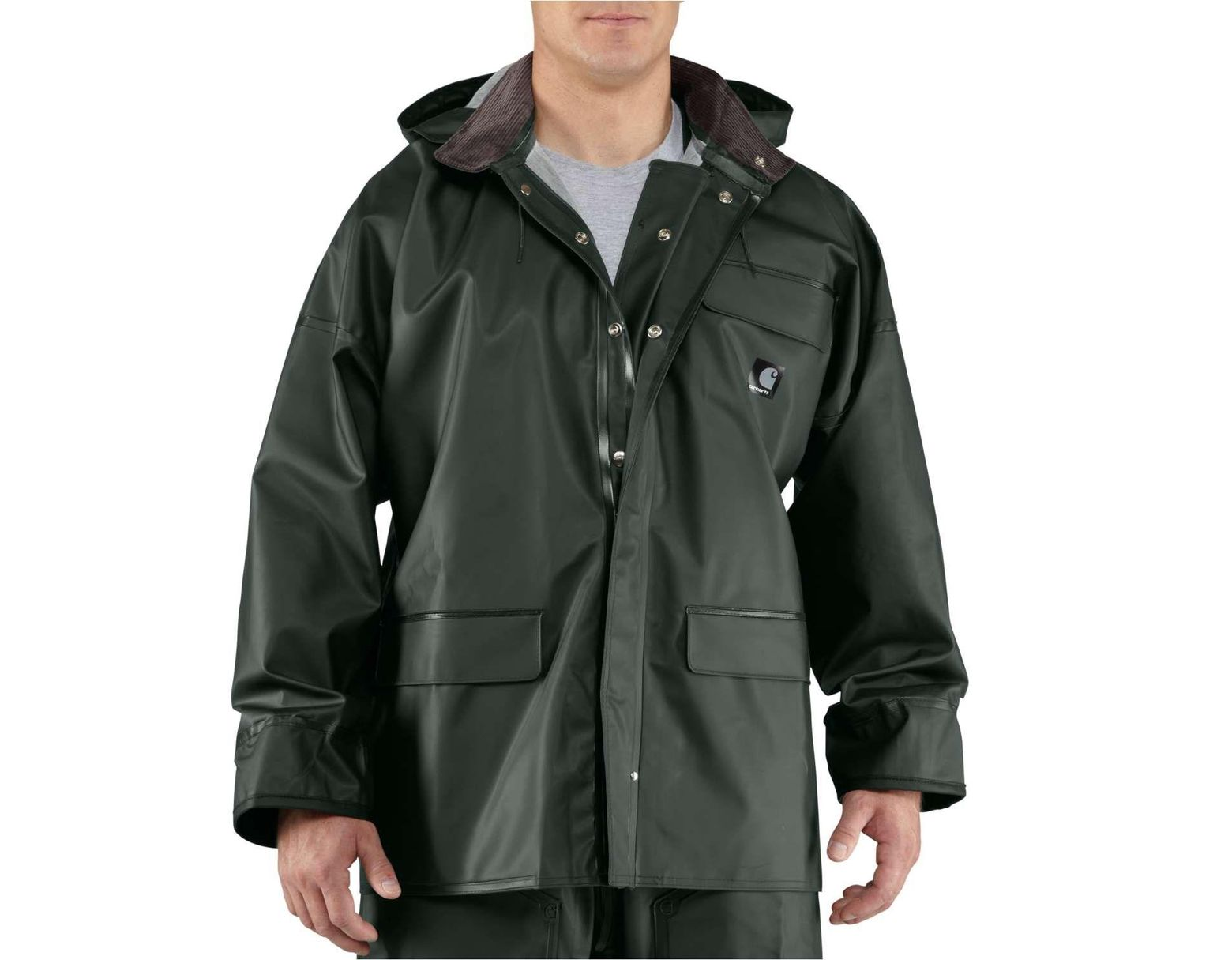 872df18bc Carhartt Surrey Pvc Rain Coat in Green for Men - Save 20% - Lyst