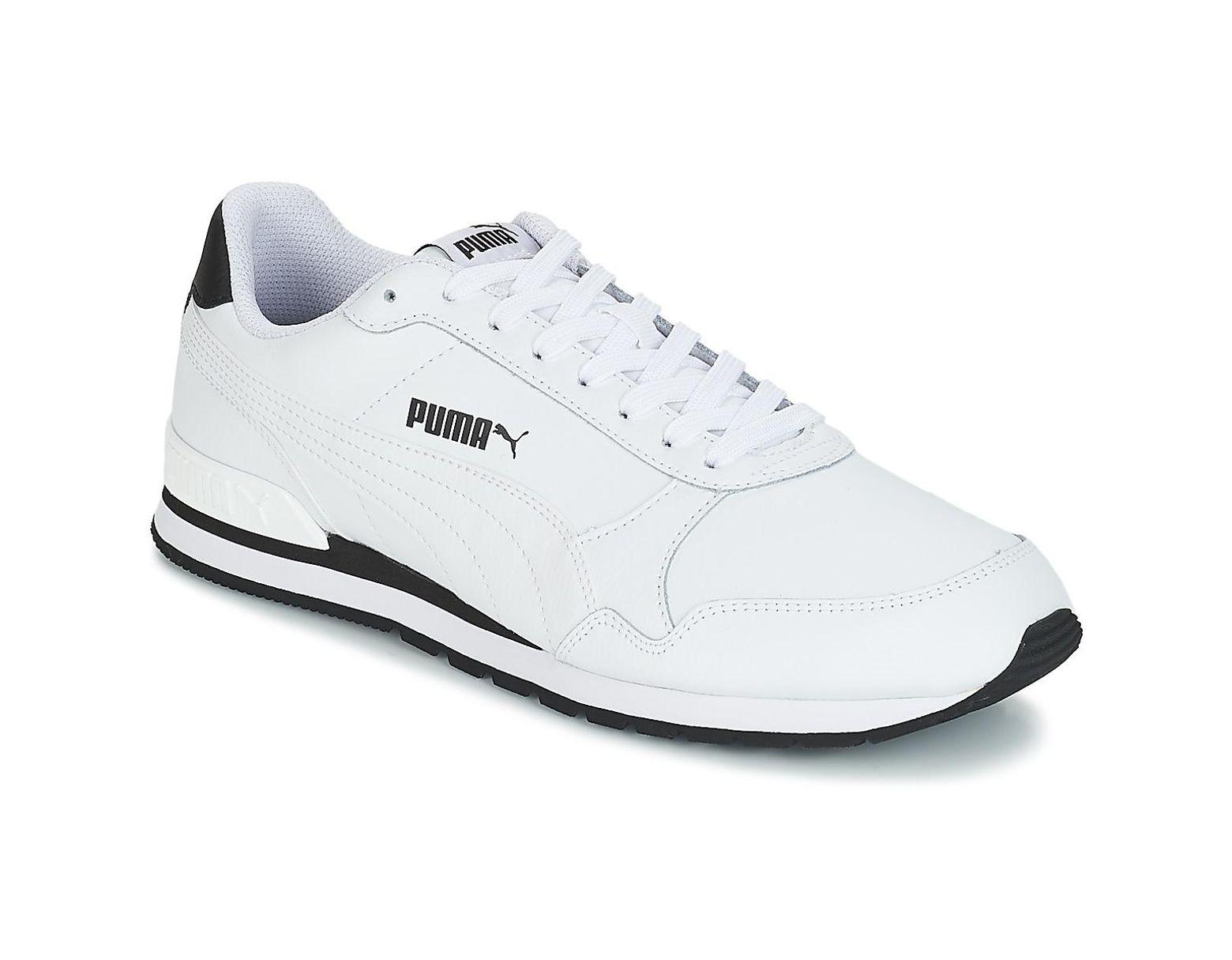 0f8d8087 Men's White St Runner V2 Ful.wht Shoes (trainers)