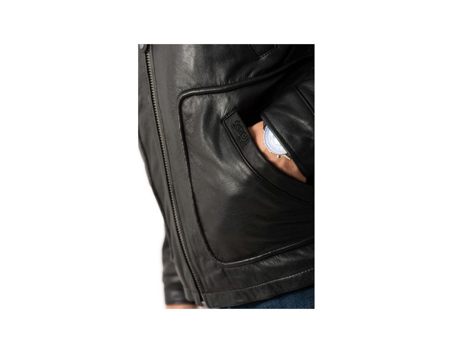 LC8100A BLACK hommes Veste en Noir