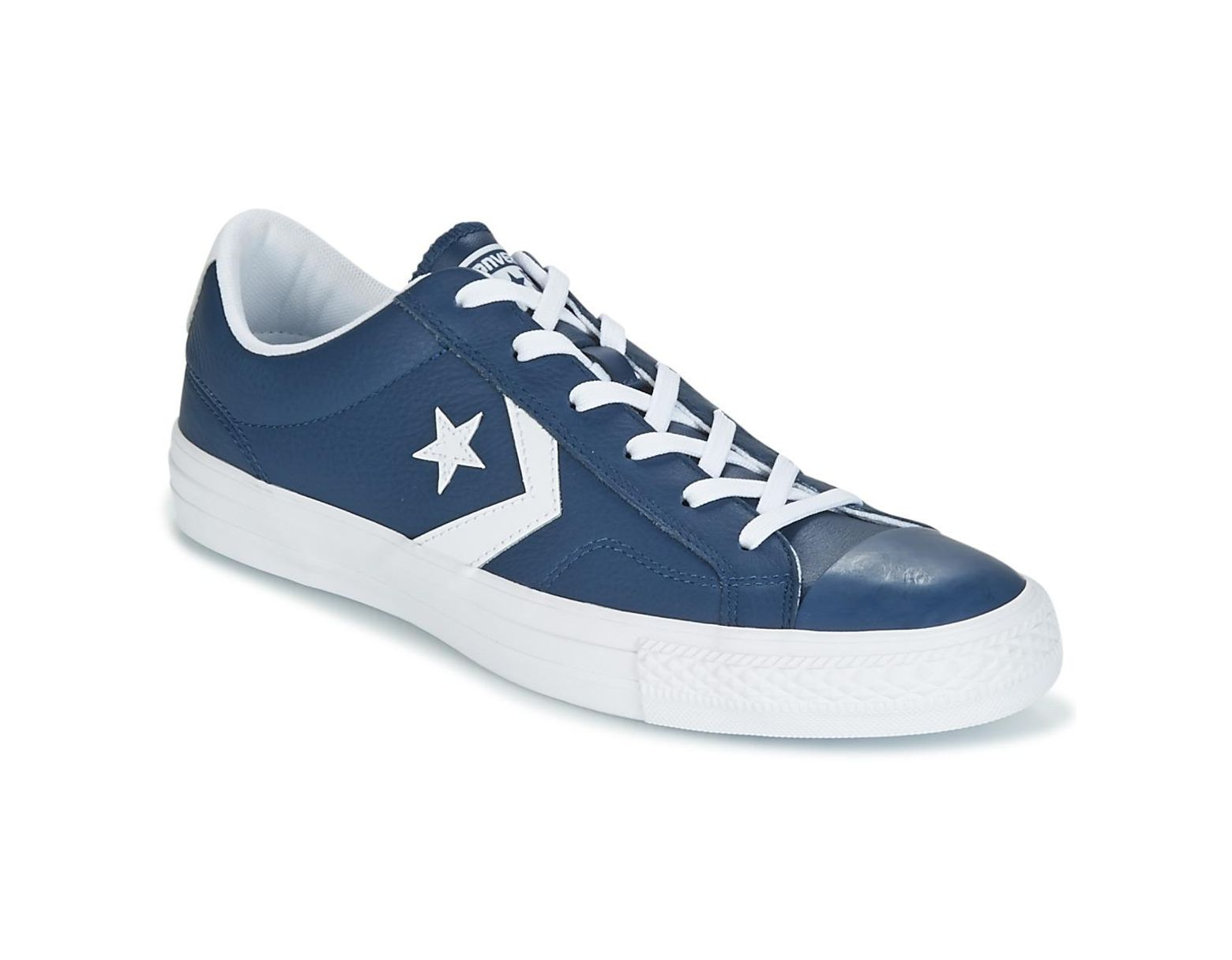 Star Leather Men's Essentials Blue Shoestrainers Ox Player txCrdsQh