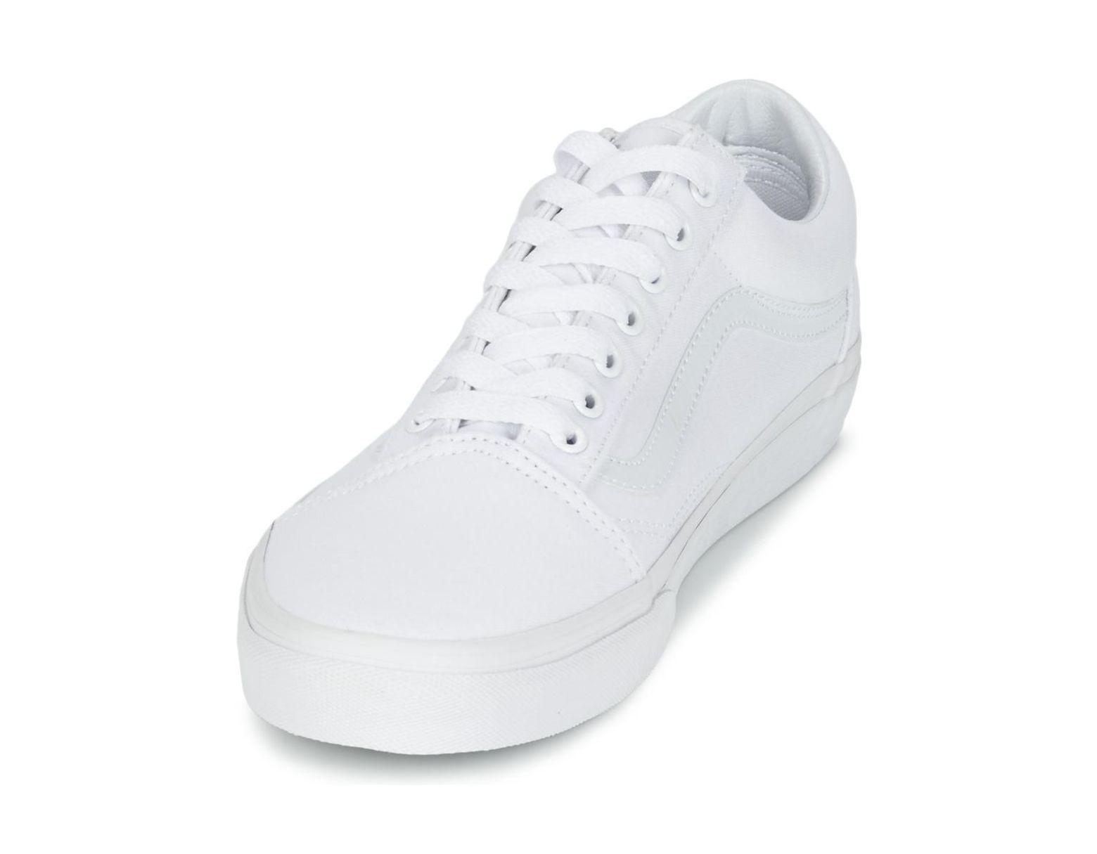 Skool Old Chaussures Femmes Blanc En pzVUqSM