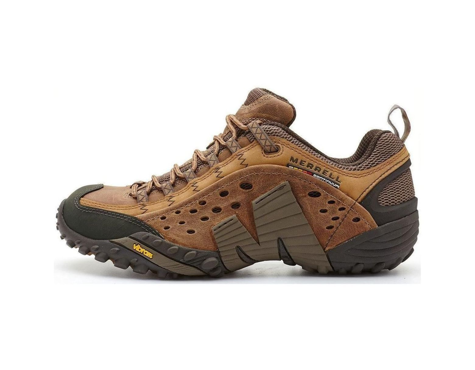 fe9adc70c23f0 Merrell Intercept Hiking Shoes In Moth Brown J73705 Men's Walking Boots In  Brown in Brown for Men - Lyst