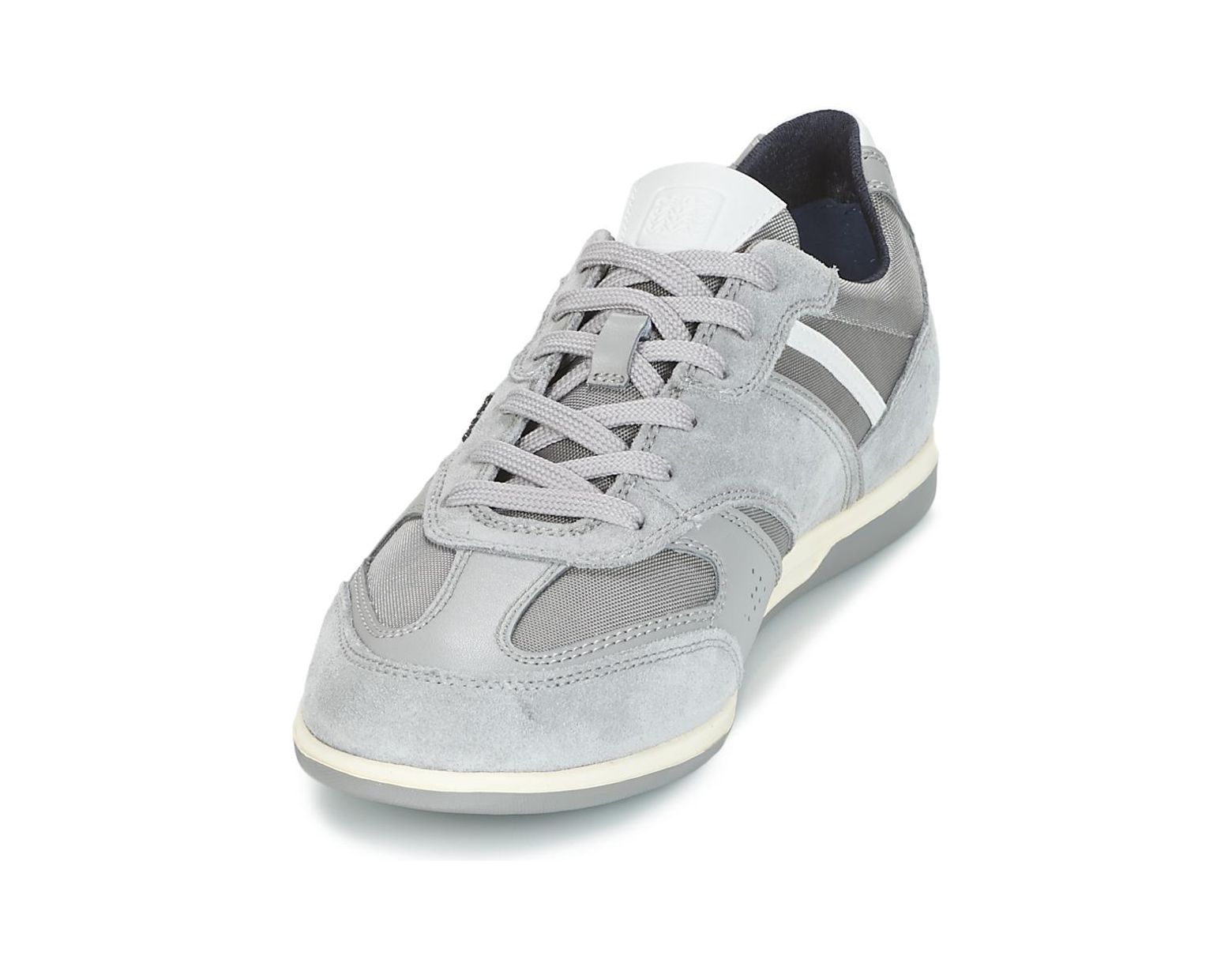 b16f0be76cd Geox U Renan A Shoes (trainers) in Gray for Men - Lyst