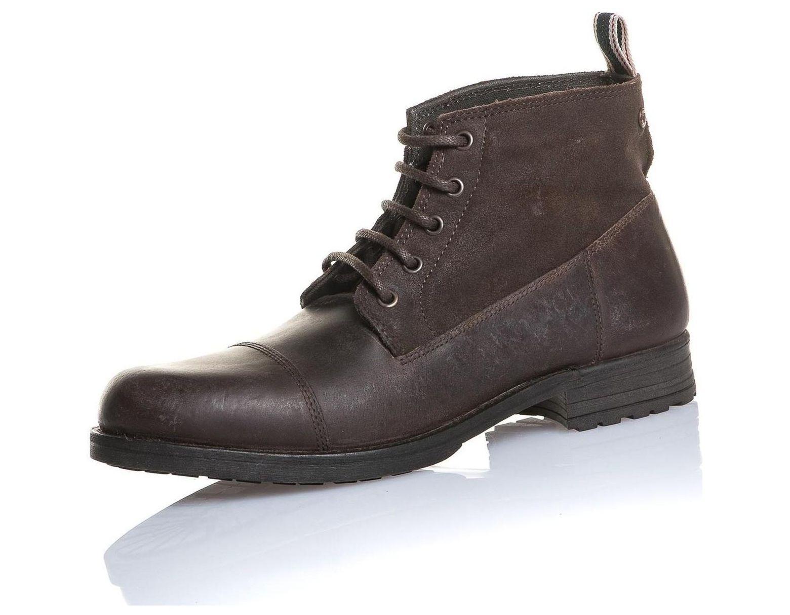 Chaussure montante cuir pour homme. | L'instant pose