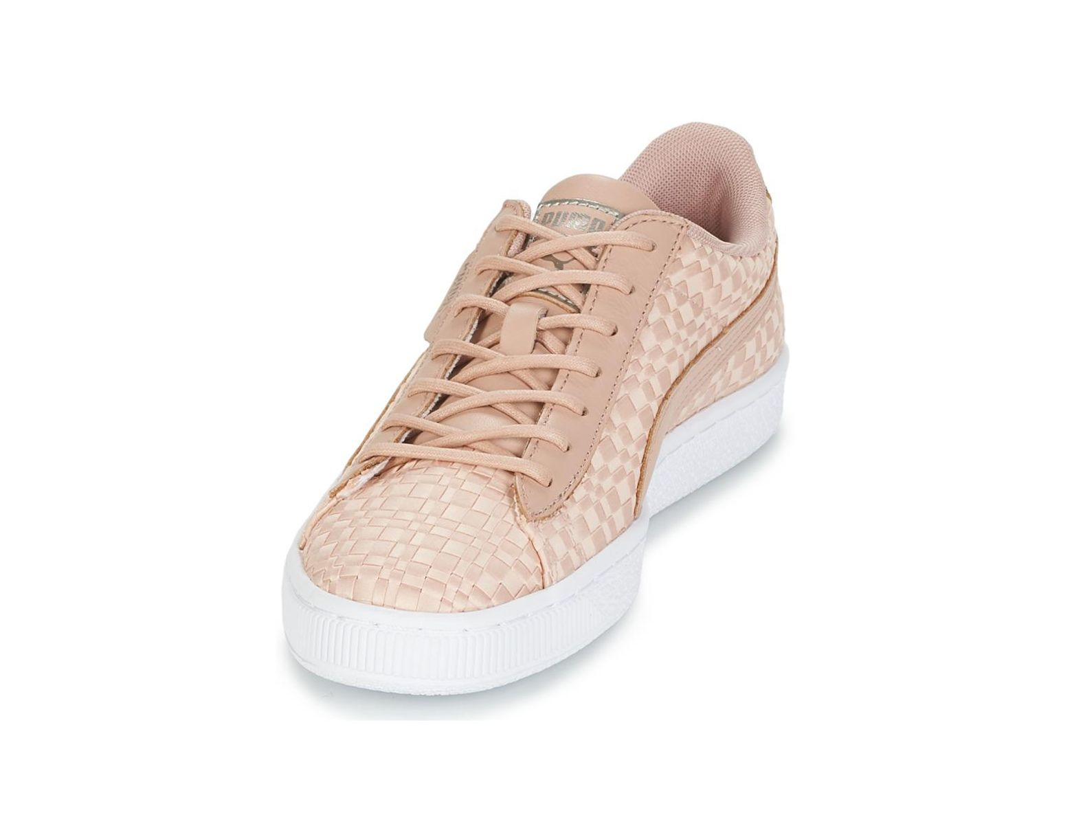78af5e133e1 Basket Satin Ep Wn's Women's Shoes (trainers) In Pink