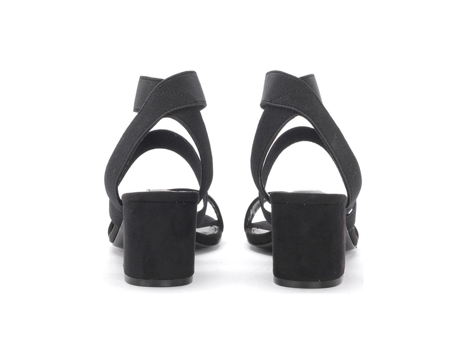 fb924072477 Steve Madden Isolate Elax Fabric And Black Vegan Suede Sandal ...