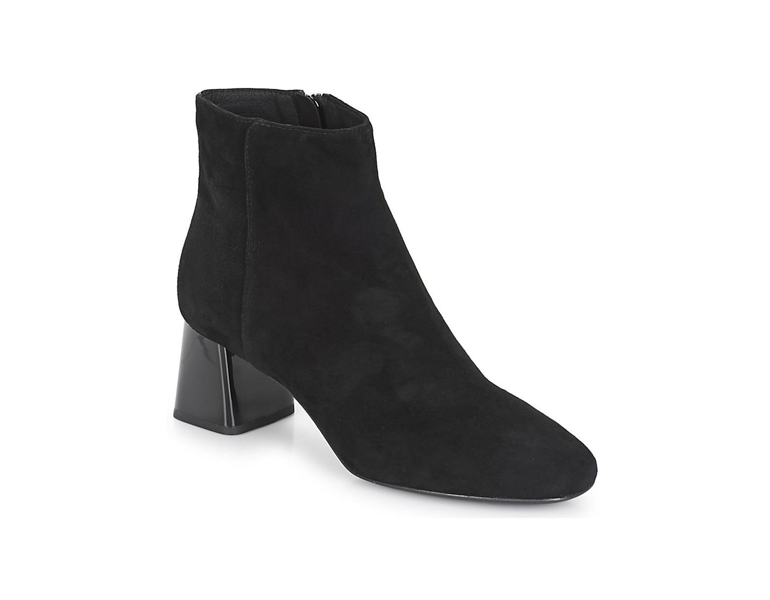 7528c018e7a Geox D Seylise Mid Low Ankle Boots in Black - Lyst
