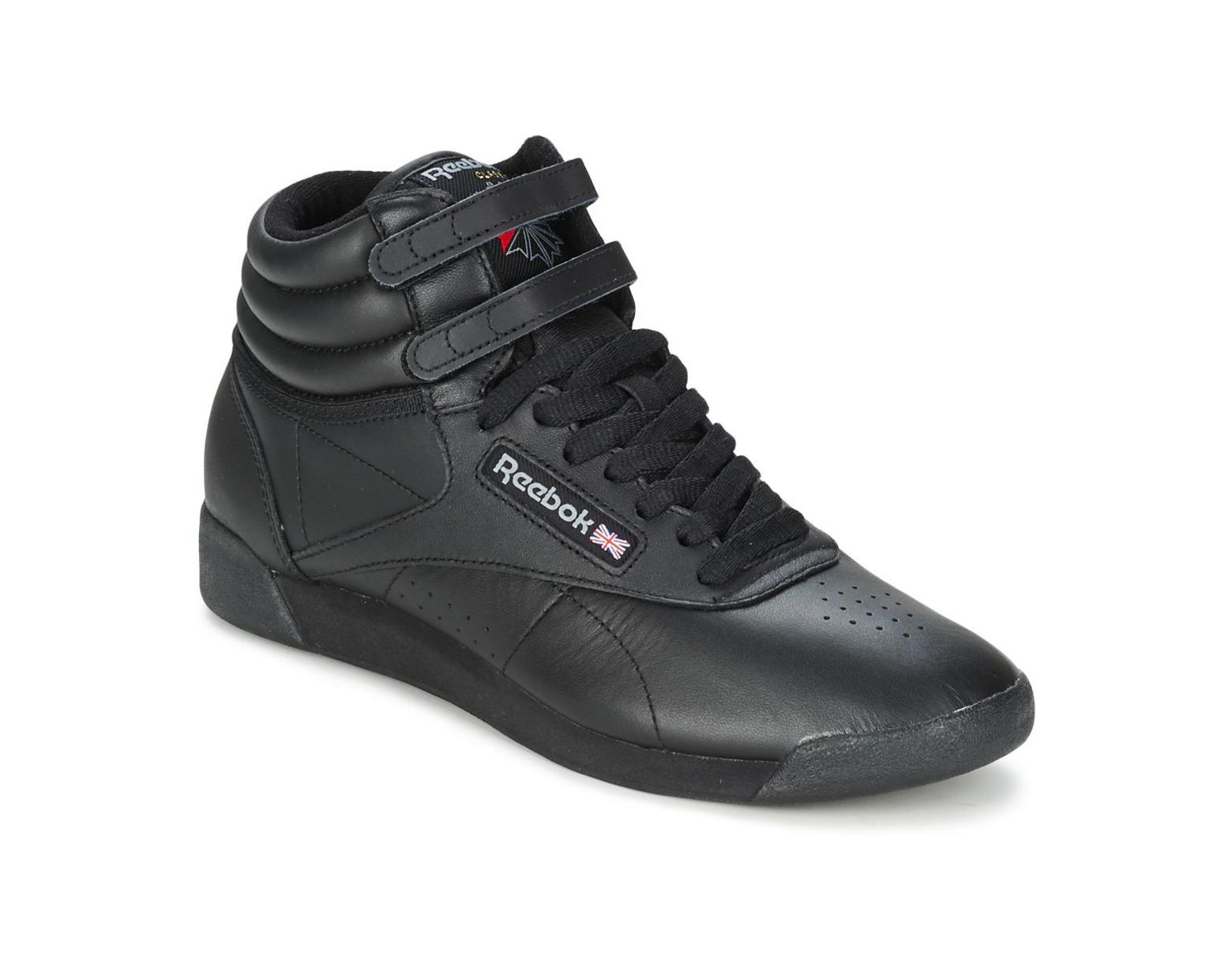 5997d80e02b1 Reebok Freestyle Women's Shoes (high-top Trainers) In Black in Black - Lyst