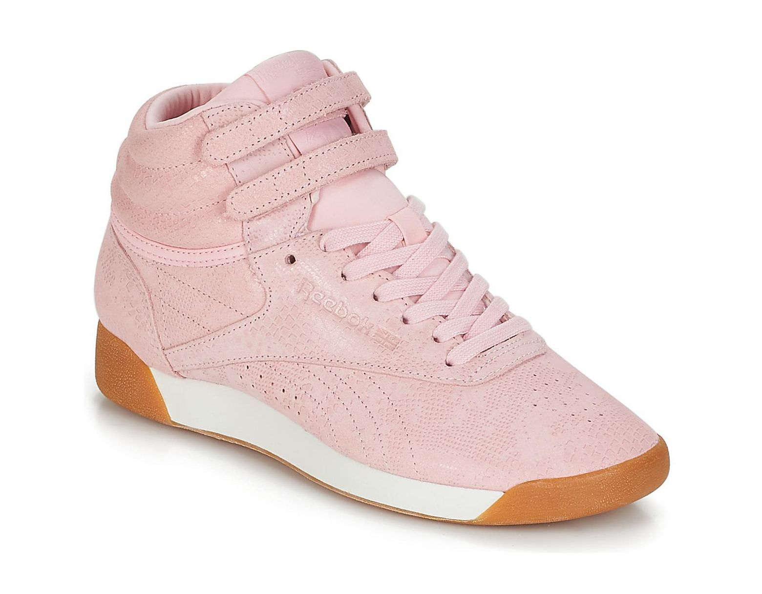 d1b0e76f Women's Pink Freestyle Hi Shoes (high-top Trainers)