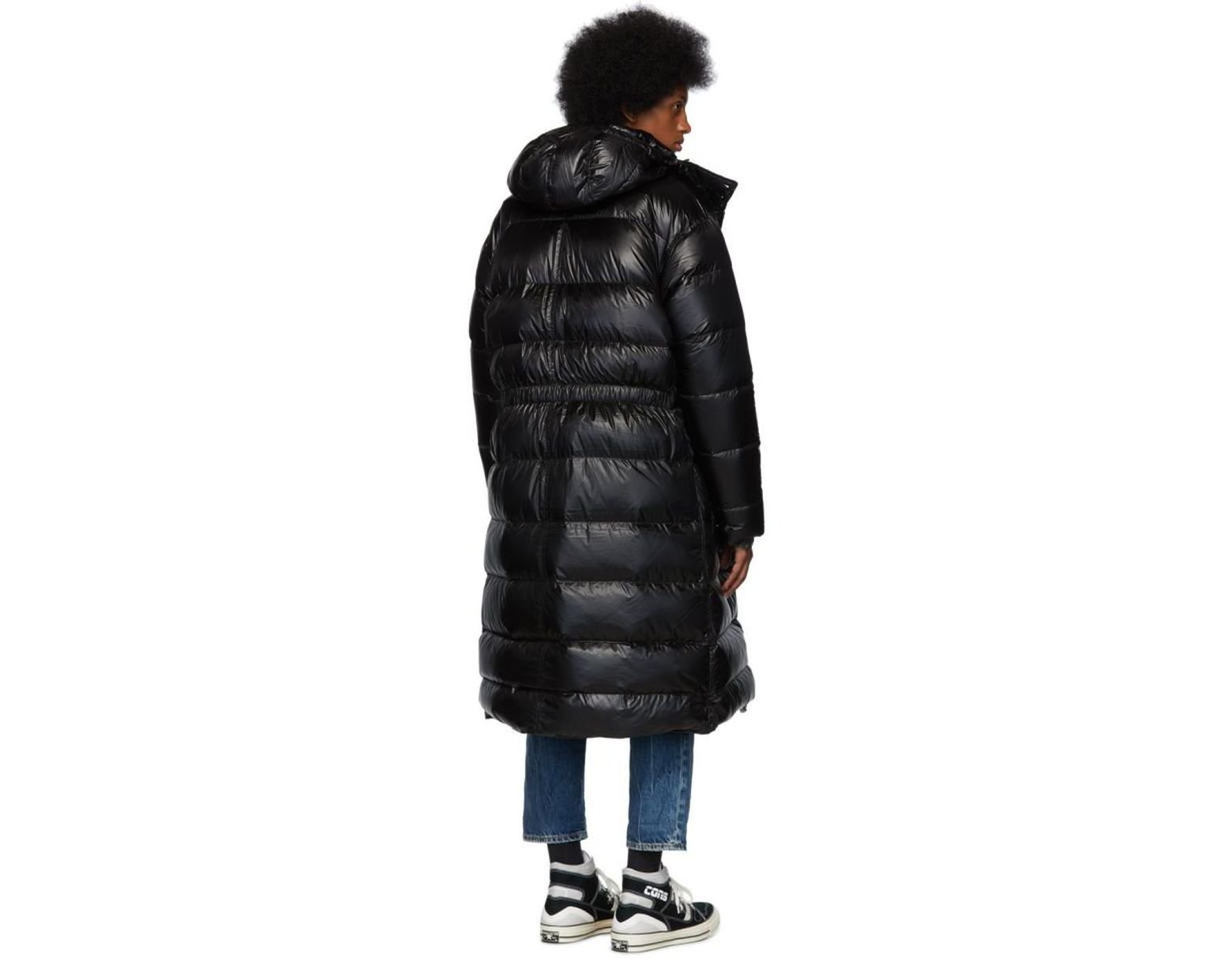 762abdbf3 Men's Black Brumal Edition Down Long Anorak Puffer Coat