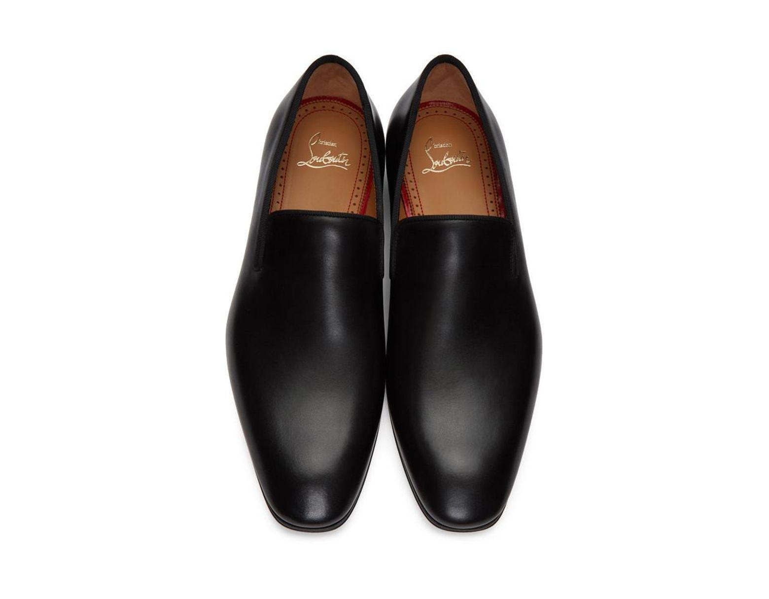 competitive price b3b53 2381e Men's Black Dandelion Flat Loafers