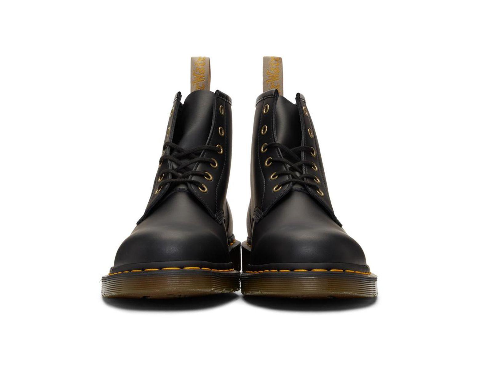 dcf3a8147de Men's Black 101 Vegan Boots
