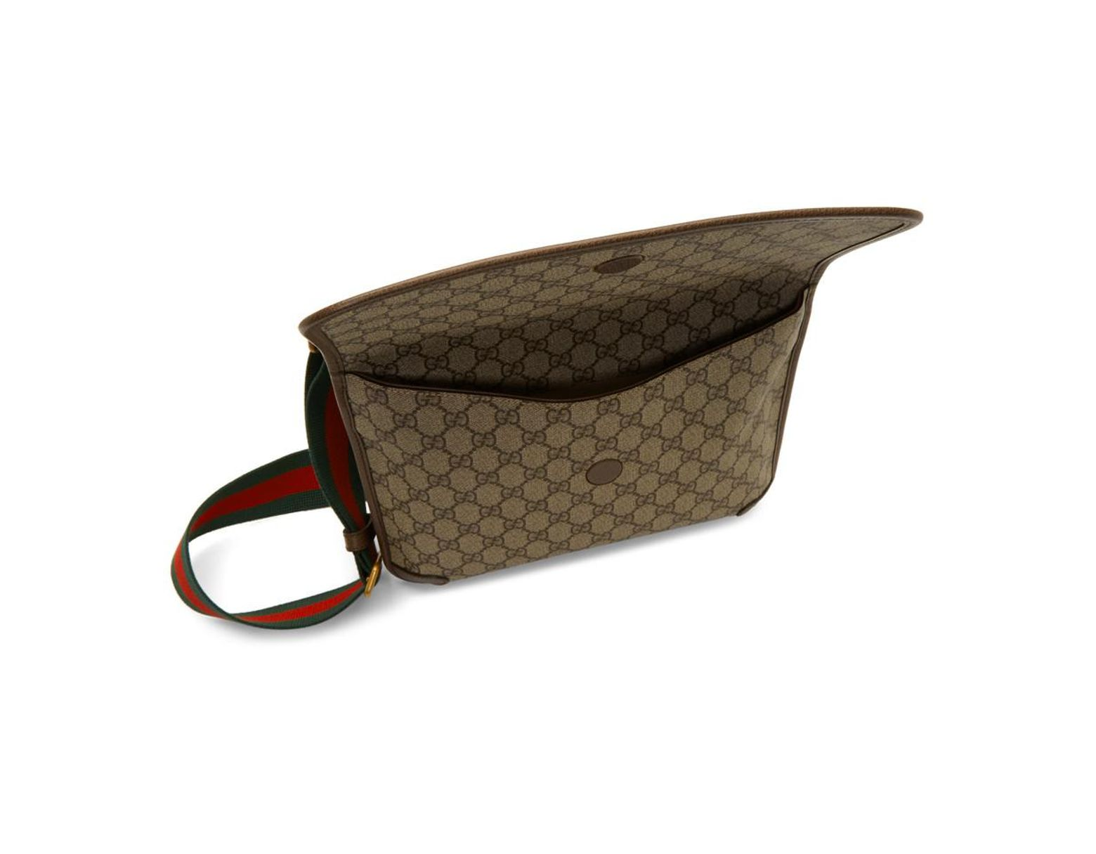 94d7018f9301 Gucci Beige Neo Vintage Foldover Bag in Brown - Save 7% - Lyst