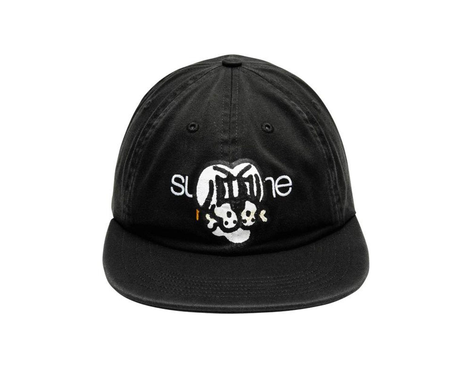 e9973d9c057b9b Supreme Bone Classic Logo 6-panel Cap 'fw 18' in Black for Men - Lyst