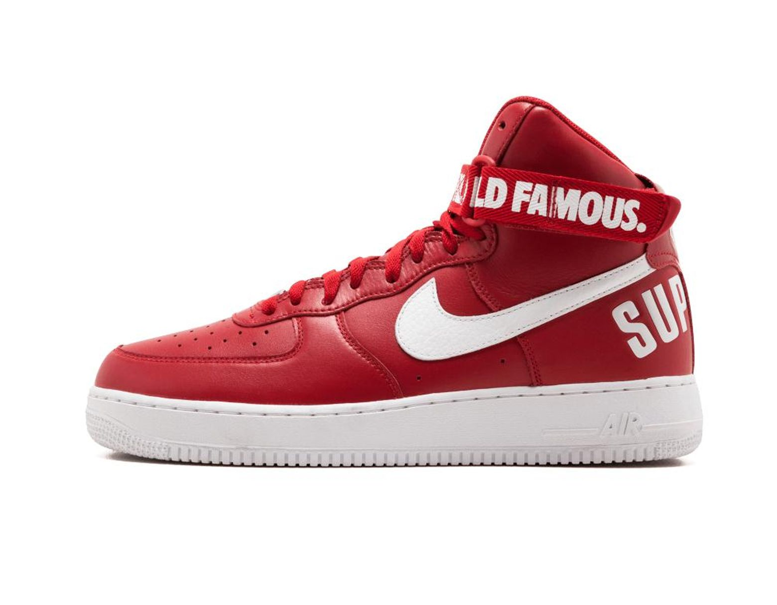 best service 0e103 01ad6 Nike Air Force 1 High Supreme Sp - Size 9.5 in Red for Men - Save 10% - Lyst