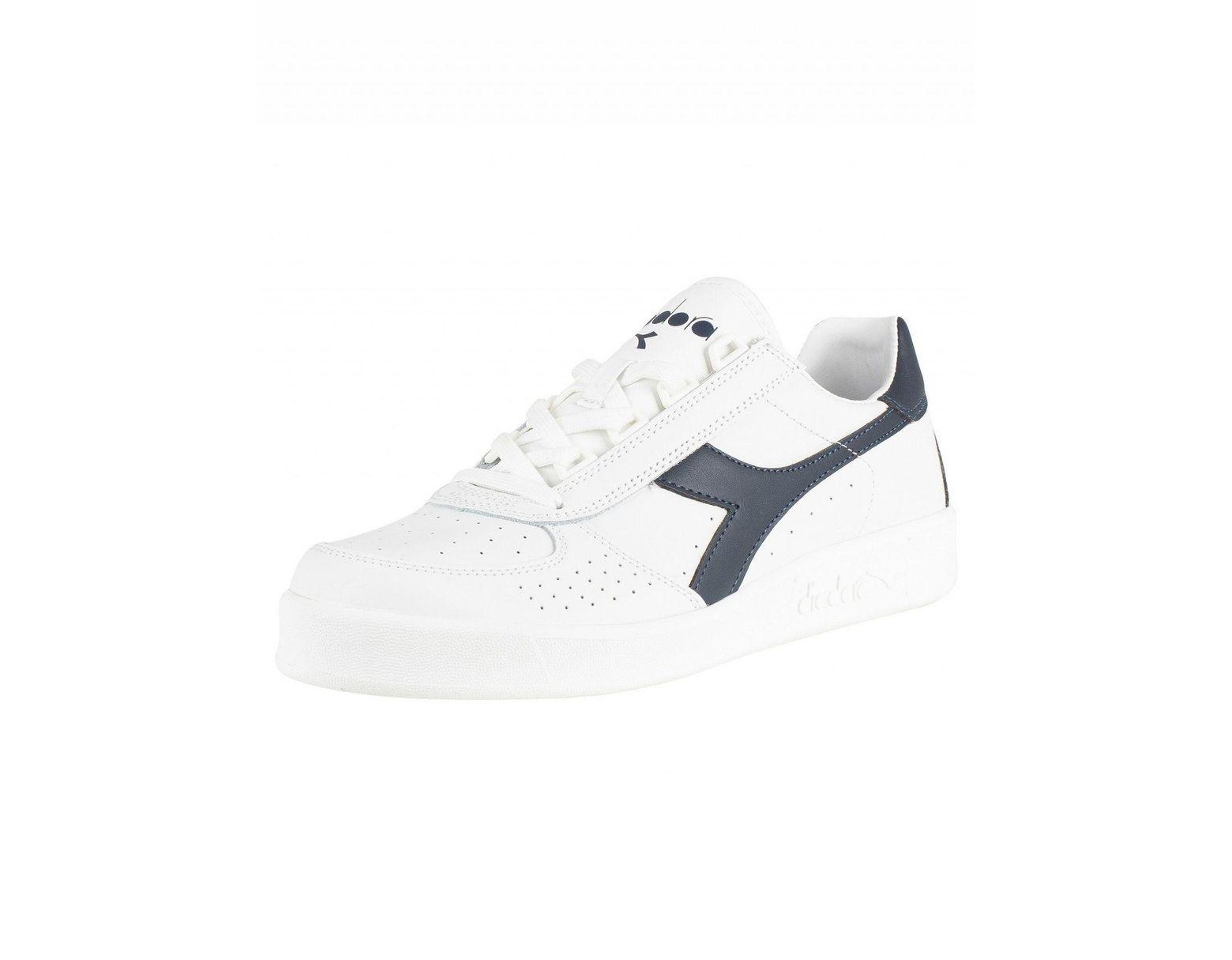 31c92255 Men's White/blue Denim B. Elite Leather Sneakers