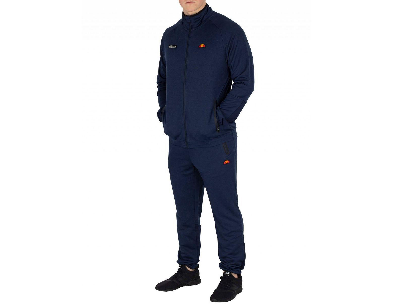 9ac18ce3e0 Ellesse Navy Caldwelo Joggers in Blue for Men - Lyst