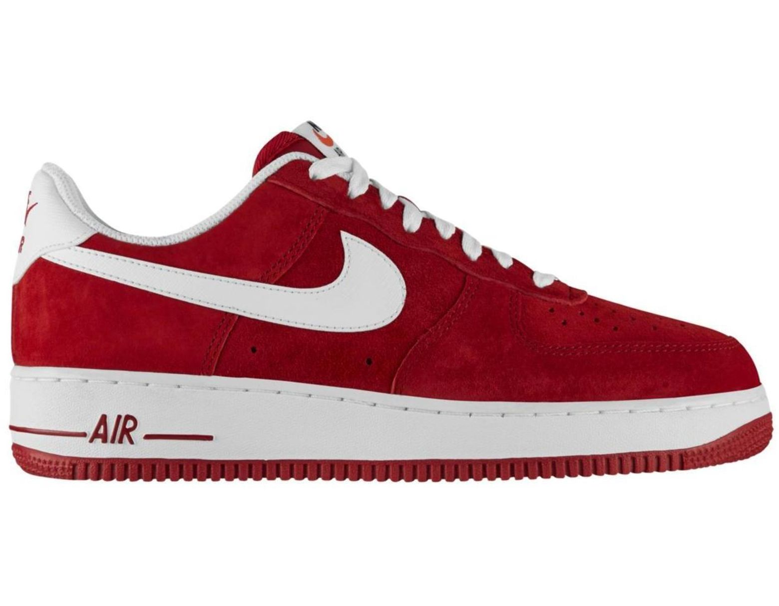 2018 shoes sale uk order online Men's Air Force 1 Low Gym Red White
