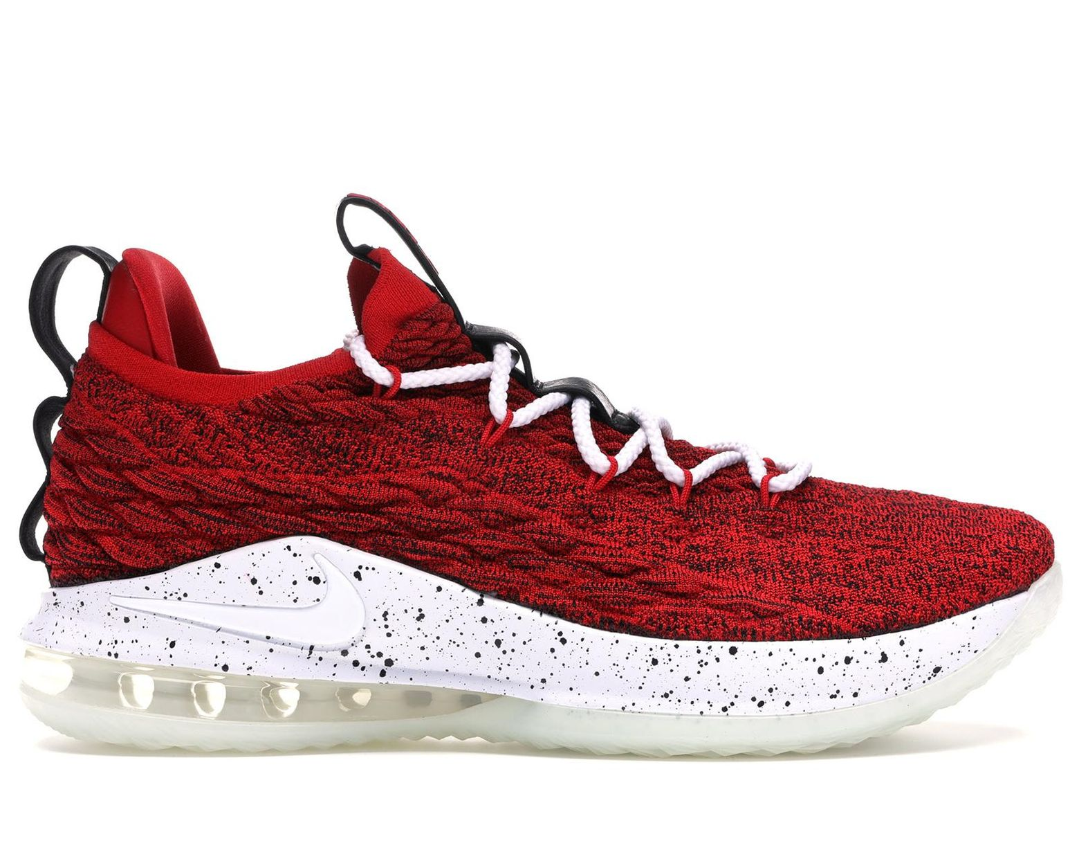 reputable site 8fedc a3bc3 Men's Lebron 15 Low College Red